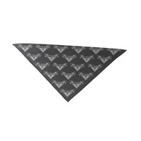 Victory 2-Color Logo Bandana - Black/Gray by Victory Motorcycles