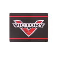 Metal Logo Sign by Victory Motorcycle