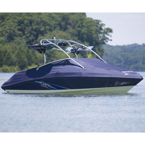 230 series mooring trailing cover with tower yamaha for Yamaha boat cover