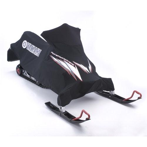 Phazer custom cover black red highlands yamaha for Yamaha snowmobile covers