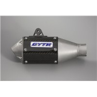 GYTR® Carbon Fiber Oval Slip-On Exhaust