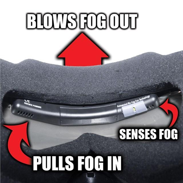 Anti-Fog Goggle Fan by 509®