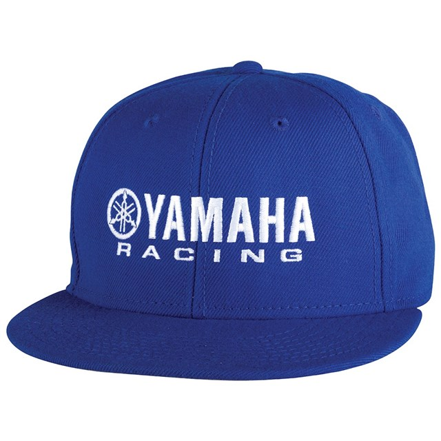 Youth Yamaha Racing Flat Bill Hat  fdd4088be77