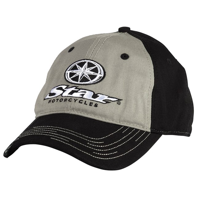 Star 174 Motorcycles Distressed Hat Yamaha Sports Plaza