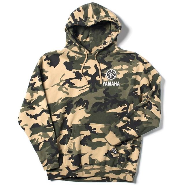 Yamaha Camo Pullover Hooded Sweatshirt by Factory Effex  069626b0d8e