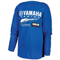 Special Edition Youth Yamaha Racing Long Sleeve Tee