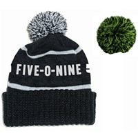 Detachable Pom Beanie by 509®