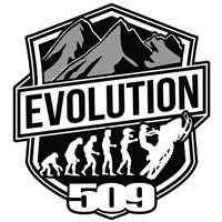 Evolution Sticker by 509®