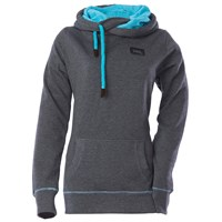 Side Tie Pullover Hooded Sweatshirt by Divas SnowGear®