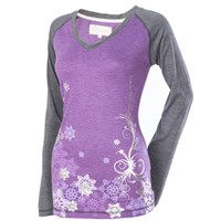 Raglan Long Sleeve Tee by Divas SnowGear®