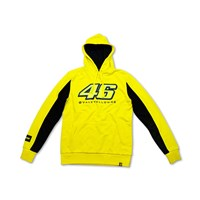 46 Vale Yellow Hooded Sweatshirt by VR|46®