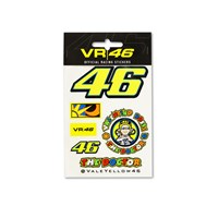 Rossi Assorted Small Sticker Sheet by VR|46®