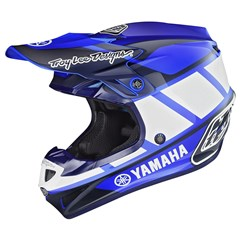 Yamaha Youth RS1 SE4 Polyacrylite Helmet by Troy Lee Designs