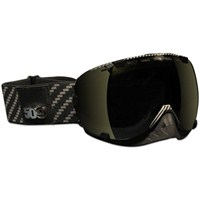 Aviator Goggles by 509® Carbon Fiber (Bronze Mirror/Smoke Tint lens)