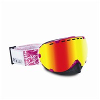Aviator Goggles by 509® Pink (Fire Mirror/Rose Tint lens)