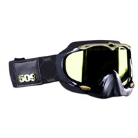 Sinister Goggles by 509® Black Gold (Gold Mirror/Yellow Tint Lens)