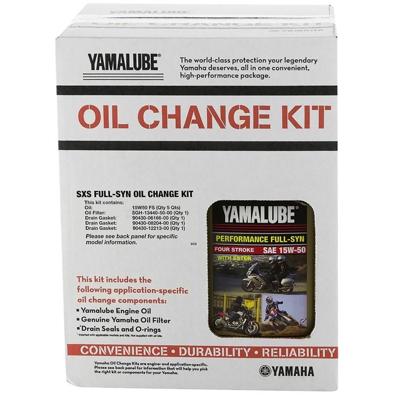 Full Synthetic Oil Change >> Side By Side 15w 50 Full Synthetic Oil Change Kit