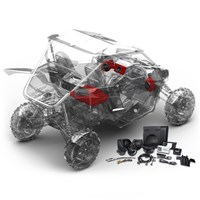 YXZ Stage 3 Stereo Kit by Rockford Fosgate®