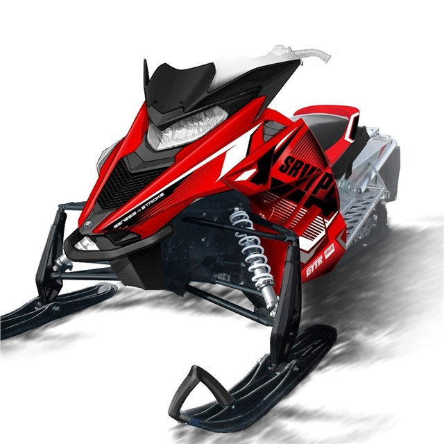 Viper graphic wraps 2016 yamaha sr viper mtx le 162 for Yamaha snow mobiles