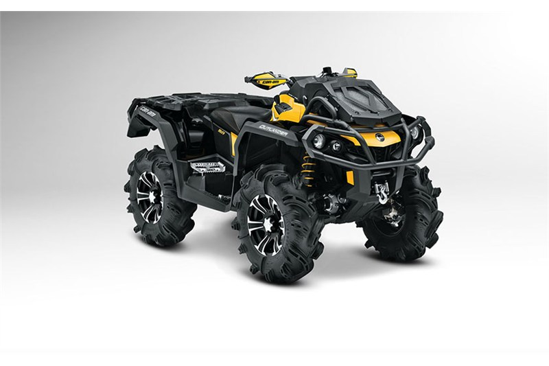 2014 Can-Am Outlander 1000 X mr Introduction : CyclePartsNation Can-Am