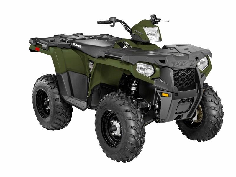 2014 Polaris Sportsman 570 Efi Sage Green Atv Features