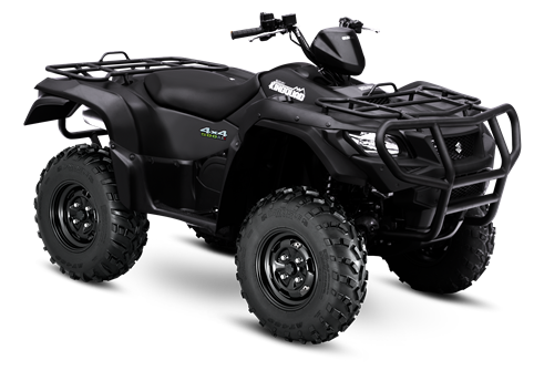 2017 Suzuki KingQuad 500AXi Power Steering Special Edition with Rugged Package