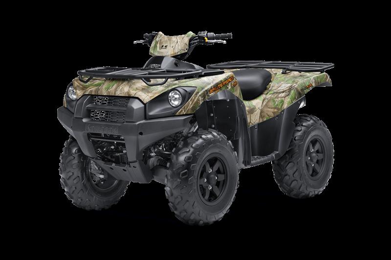 2018 Kawasaki BRUTE FORCE® 750 4x4i EPS CAMO