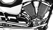 Chrome Engine Covers, Exhaust and Trim