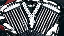 106 CUBIC-INCH FREEDOM® V-TWIN