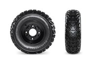 Kenda Pathfinder Tires & Powder-Coated Steel Wheels
