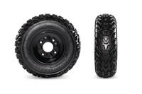 Kenda Pathfinder Tires & Powder-Coated Steel Wheels