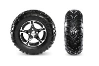 Duro 3 Star Kaden Tires & Aluminum Wheels