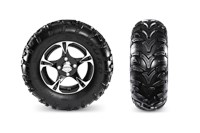 Duro 3 Star Kaden Tires & Aluminum Wheels