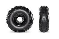 Kenda Tires & Powder-Coated Steel Wheels