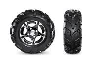 28-Inch Maxxis Zilla Tires & Aluminum Wheels