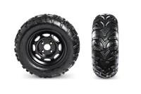 Duro Kaden Tires & Steel Wheels