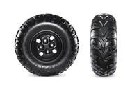 Duro 3 Star Kaden Tires & Powder-Coated Steel Wheels