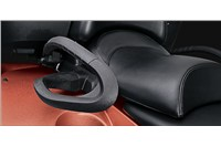 Passenger Seat with Heated Grips