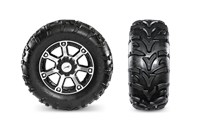 Duro Kaden Tires & Aluminum Wheels