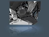 Bulletproof Twin-Cylinder Engine.