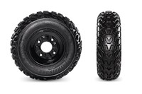 Kenda Pathfinder Tires with Powder-Coated Steel Wheels