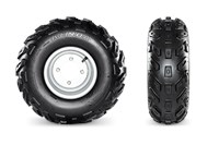 Kenda Tires with Powder-Coated Steel Wheels