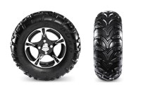 Duro Kaden Tires with Aluminum Wheels