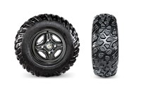 Carlisle Trail Pro Tires with Steel Wheels