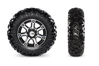 Maxxis Bighorn 2.0 Tires with Aluminum Wheels