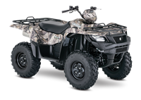 2018 Suzuki KINGQUAD 750AXI POWER STEERING CAMO